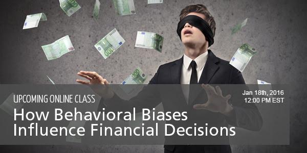 Behavioral Biases Class