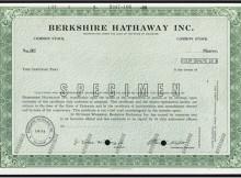 berkshire hathaway stock certificate
