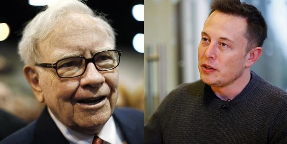 Warren Buffett Elon Musk